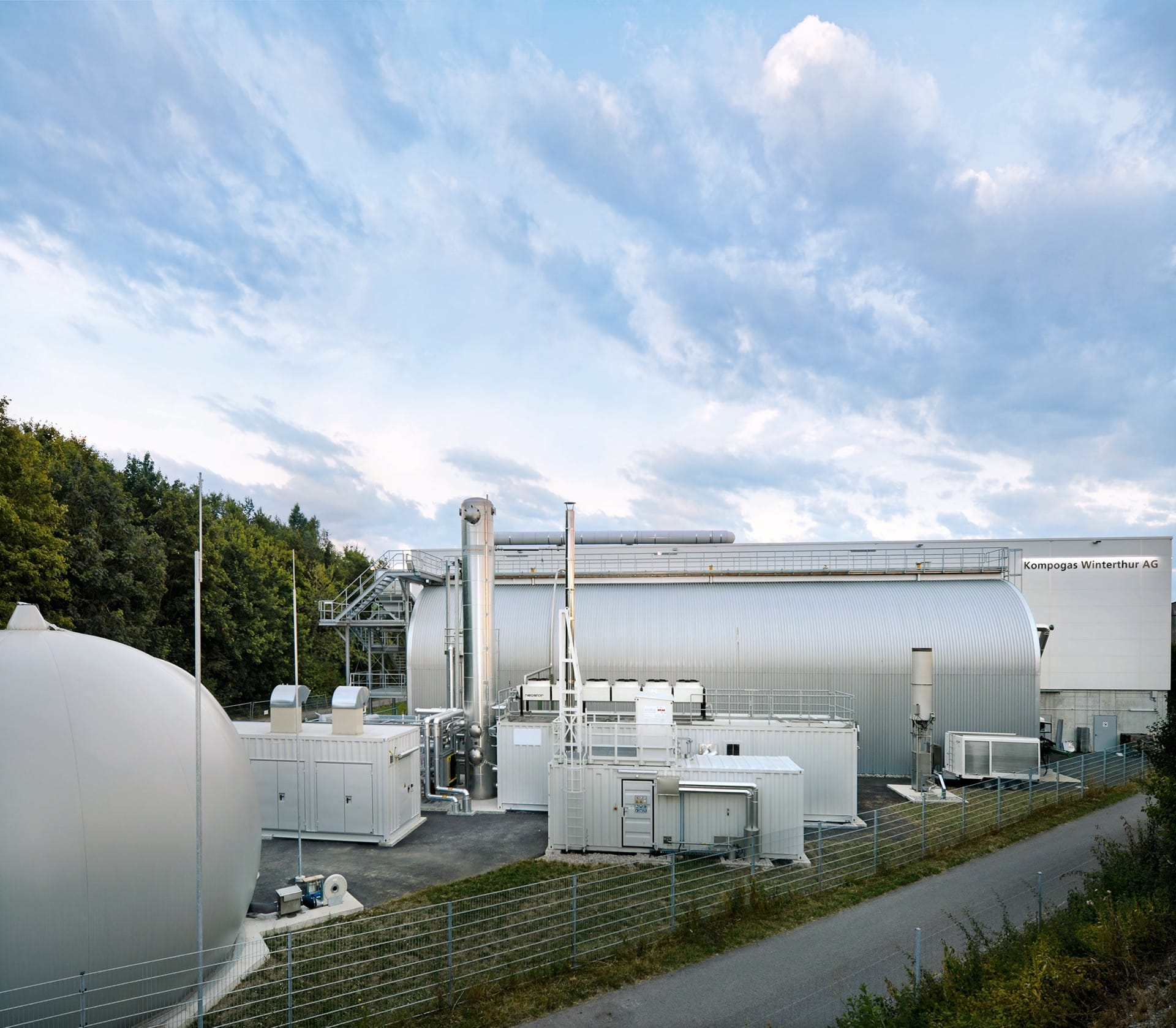 Gas Upgrading Plant – Winterthur, Switzerland