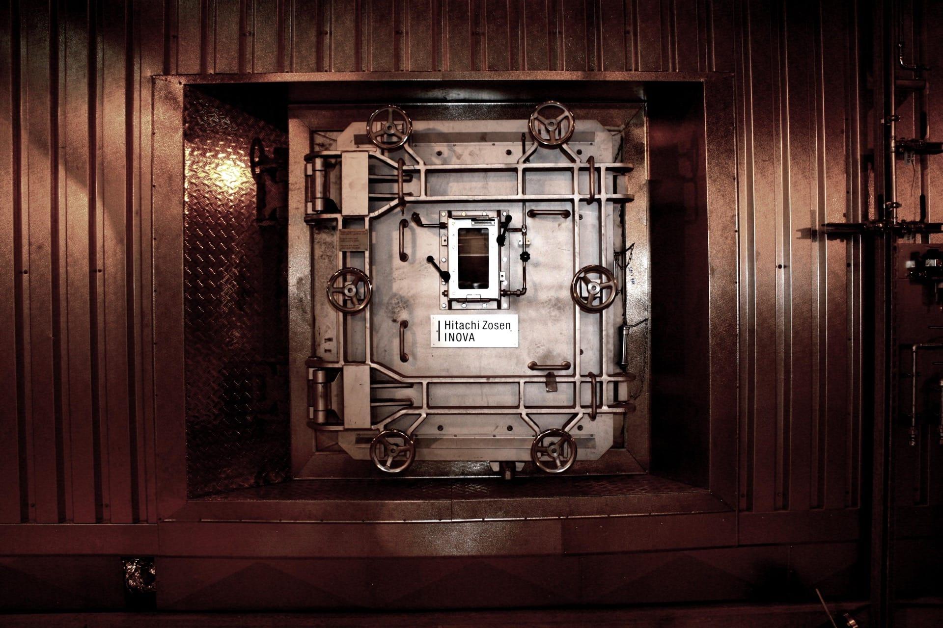 HZI Grate Door