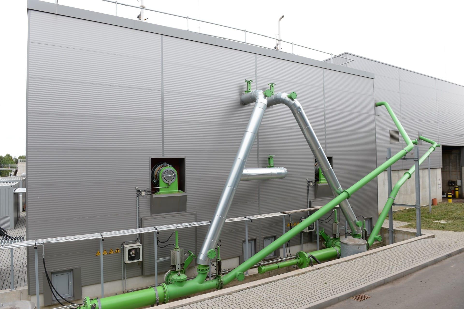 Kompogas Concrete Digester – Fulda, Germany