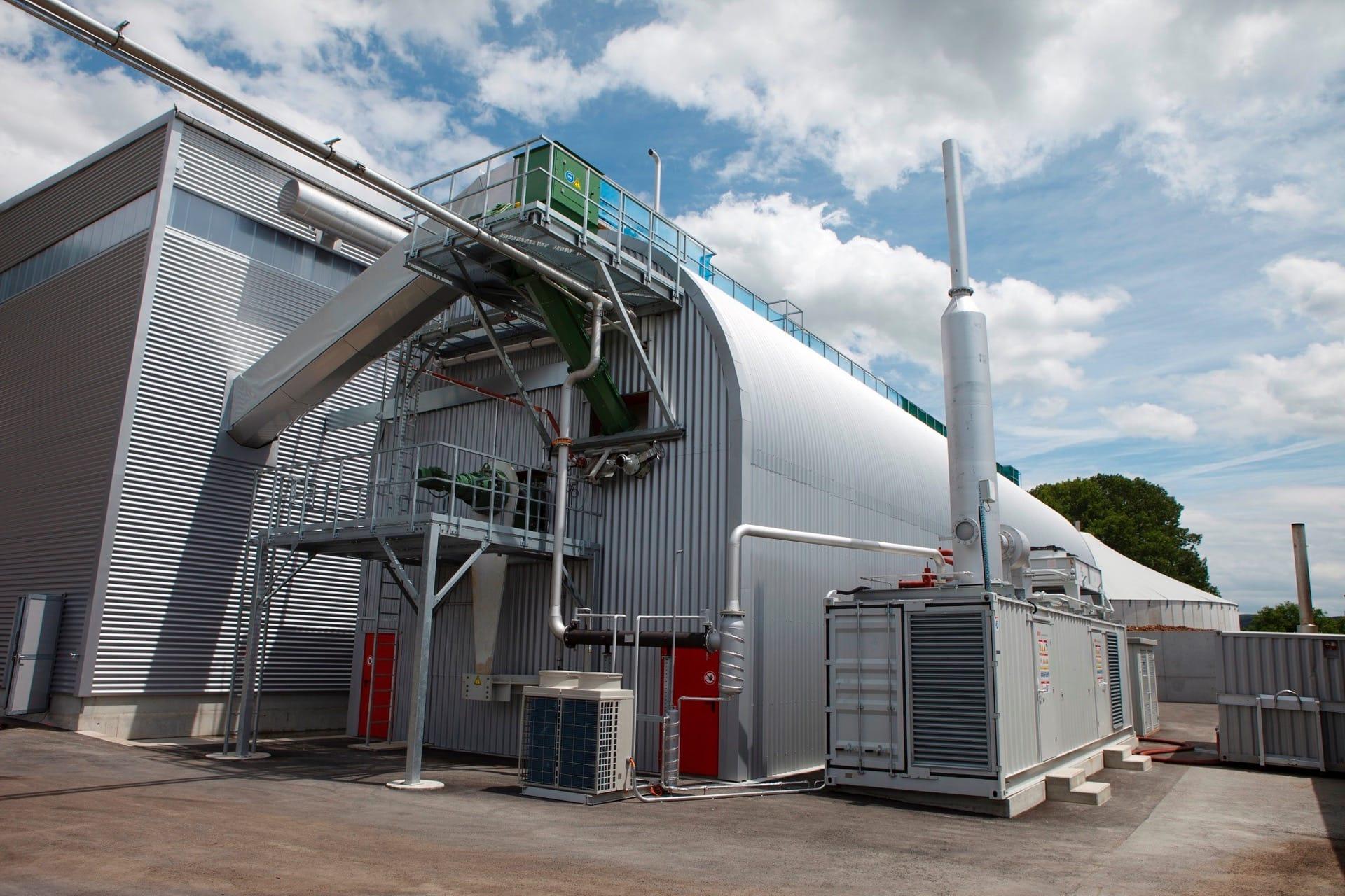 Kompogas Steel Digester – Chavornay, Switzerland