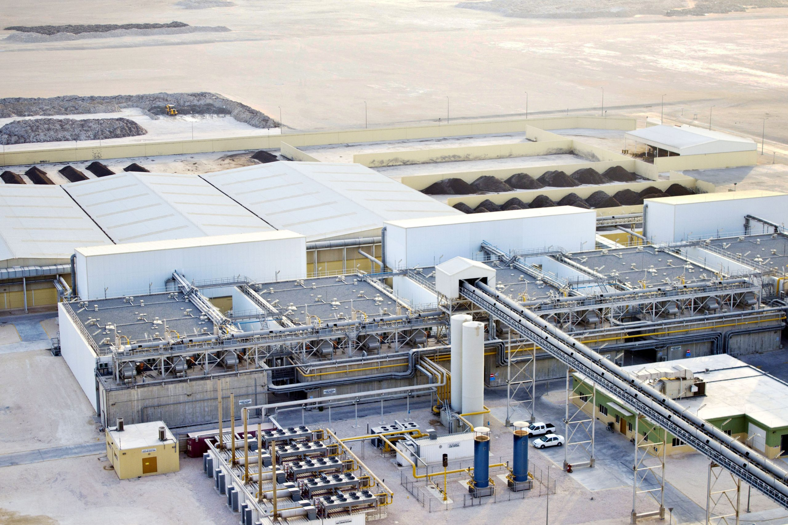 The largest: AD plant in Doha